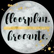 floorplan. _ brocante. logo